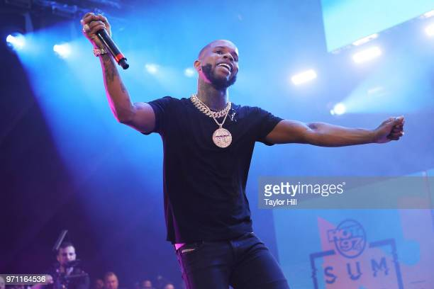 Tory Lanez performs at MetLife Stadium on June 10 2018 in East Rutherford New Jersey