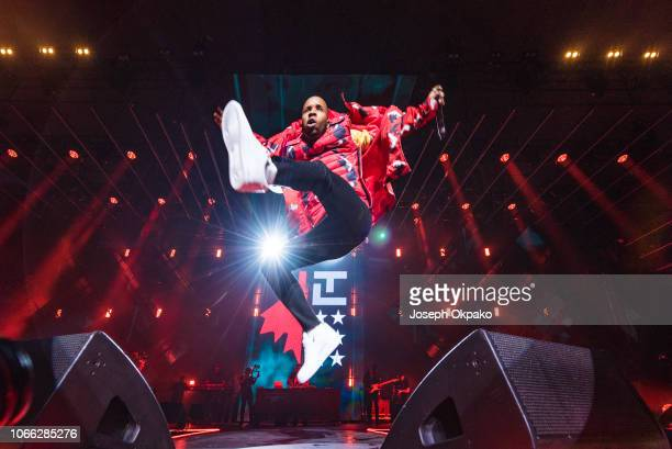 Tory Lanez performs on stage during Spotify Presents Who We Be Live at Alexandra Palace on November 28 2018 in London England