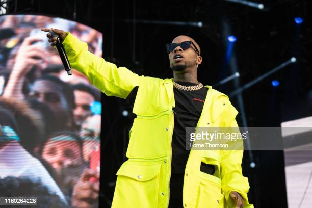 Tory Lanez performs on stage during Wireless Festival 2019 on July 05 2019 in London England