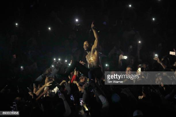 Tory Lanez performs onstage during Spotify's RapCaviar Live in Houston at Revention Music Center on December 14 2017 in Houston Texas