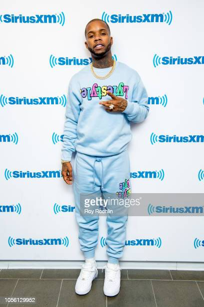 Tory Lanez visits the The Lord Sear Special show to discuss Love me Now at SiriusXM Studios on November 1 2018 in New York City