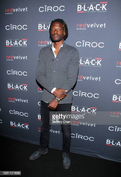 Tosaint Ricketts attends Stephan James And Shamier Anderson Host Third Annual BLACK Ball at TIFF Bell Lightbox on September 10 2018 in Toronto Canada