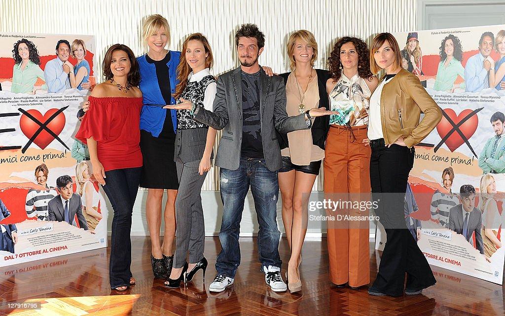 """""""Ex - Amici Come Prima"""" - Milan Photocall"""