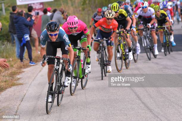 Tosh Van der Sande of Belgium and Team Lotto Soudal / during the 101th Tour of Italy 2018, Stage 5 a 153km stage from Agrigento to Santa Ninfa-Valle...