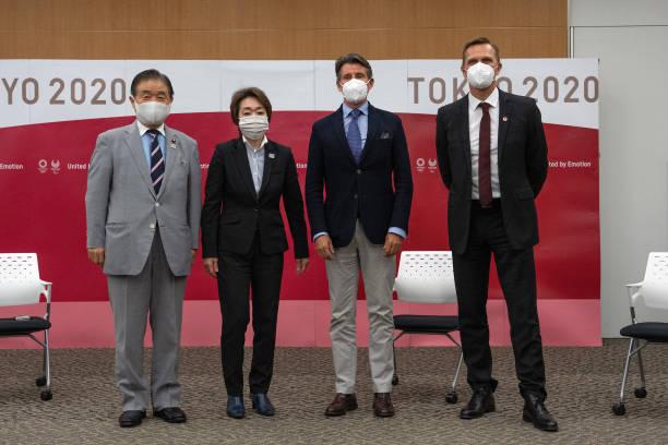 JPN: World Athletics President, Sebastian Coe, Meets With Tokyo 2020 President Seiko Hashimoto