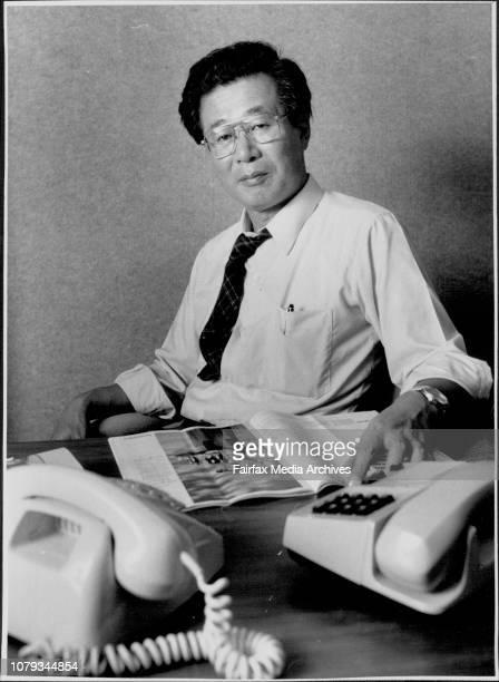 Toshihiko Wada Australian Correspondant for the Japanese Newspaper Asahi Shimbun for story on Japaness in AustraliaToshihiko Wada has watched with...