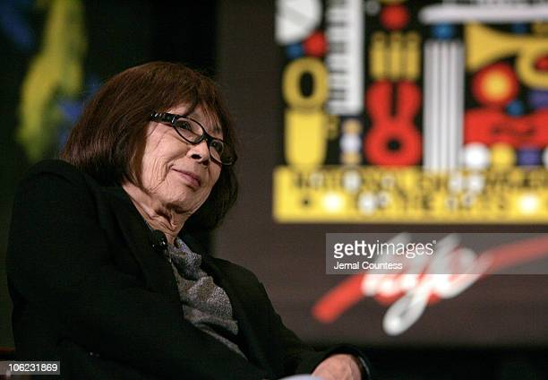 Toshiko Akiyoshi during National Endowment for the Arts Jazz Masters 2007 Panel Discussion at New York Hilton in New York City New York United States