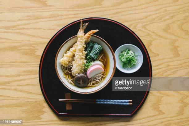 そば俊子 - 蕎麦 ストックフォトと画像