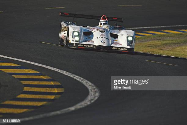 Toshio Suzuki of Japan drives the LMP Panoz LMP1 Roadster S Elan Power Products Roush V8 during the ACO European Le Mans Series 24 Hours of Le Mans...