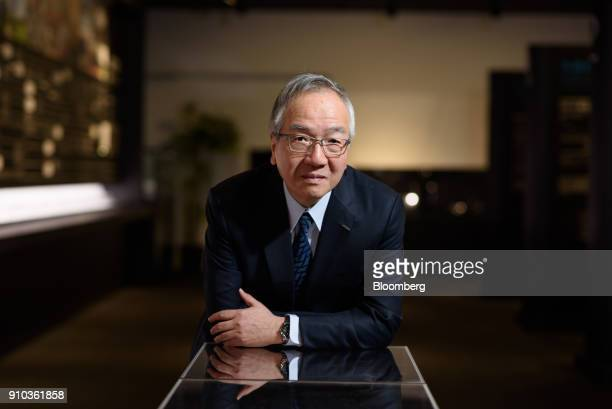 Toshio Tokura president and chief executive officer of Citizen Watch Co poses for a photograph in Tokyo Japan on Thursday Jan 25 2018 Citizen is open...