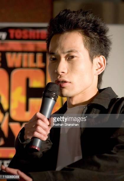 "Toshiyuki Itakura of Impulse during ""We Will Rock You"" Musical - Tokyo Kick-Off Event at Koma Stadium in Tokyo, Japan."