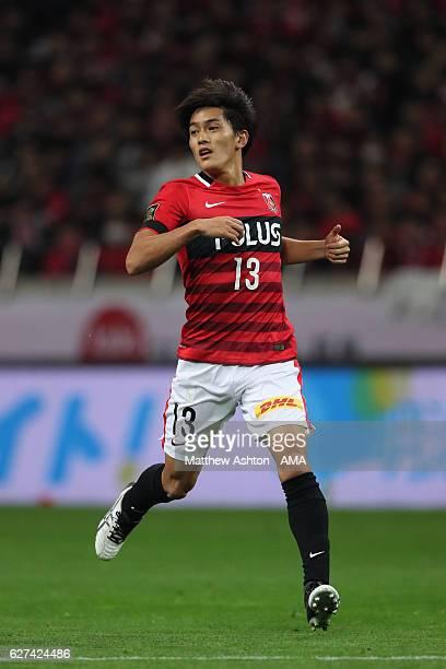 Toshiyuki Takagi of Urawa Red Diamonds during the JLeague Championship Final second leg match between Urawa Red Diamonds and Kashima Antlers at...