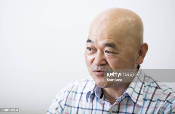 Toshiyuki Takahashi a former video game champion known as Master Takahashi and head of Organization for Promoting eSports speaks during an interview...