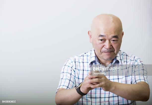 Toshiyuki Takahashi a former video game champion known as Master Takahashi and head of Organization for Promoting eSports poses for a photograph in...