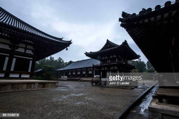 Toshodaiji Temple Toshodaiji was founded by Ganjin a Chinese priest invited to Japan by the emperor to train priests and teach Buddhism Ganjin's...