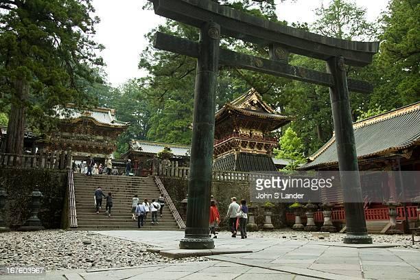 Toshogu Shrine was built in 1617 as the mausoleum of the Tokugawa Ieyasu The main shrine buildings were built by the third shogun Tokugawa Iemitsu in...