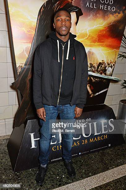 Tosin Cole attends a VIP screening of The Legend Of Hercules at The Courthouse Hotel on March 25 2014 in London England