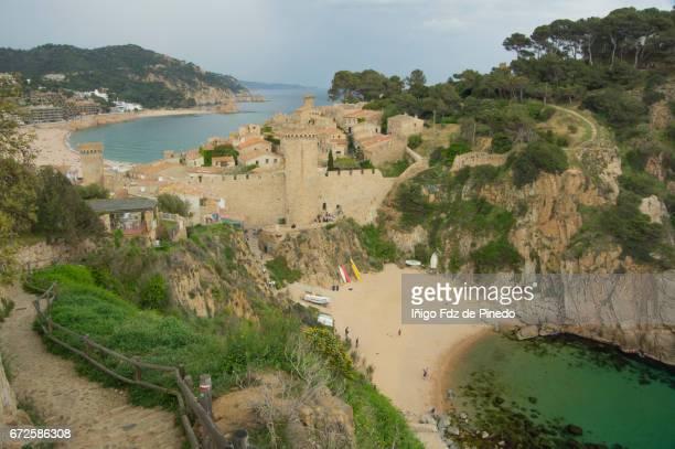 Tossa de Mar- La Selva- Costa Brava- Catalonia- Spain