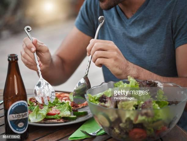 De salade gooien