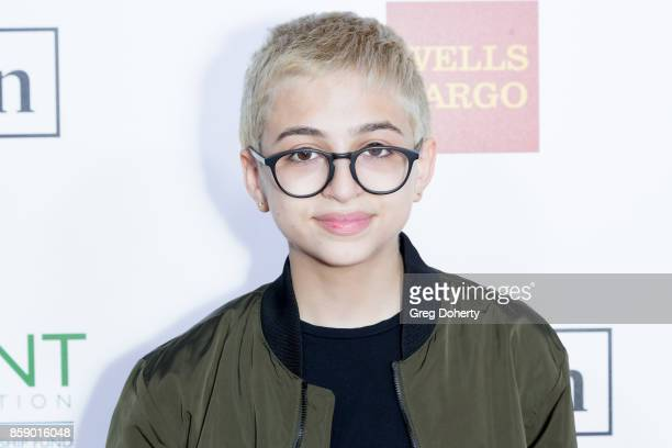 Totah arrives for the Point Honors Los Angeles at The Beverly Hilton Hotel on October 7 2017 in Beverly Hills California