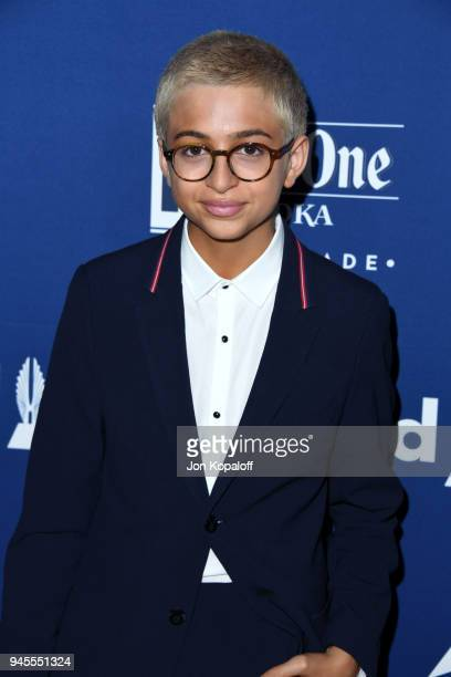J Totah attends the 29th Annual GLAAD Media Awards at The Beverly Hilton Hotel on April 12 2018 in Beverly Hills California