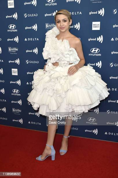 J Totah attends the 30th Annual GLAAD Media Awards at Beverly Hills Hotel on March 28 2019 in Beverly Hills California