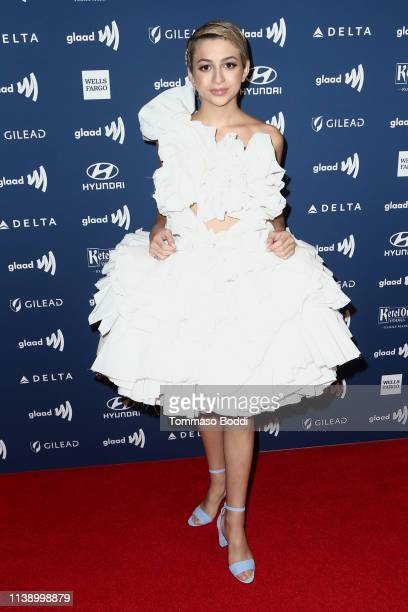 J Totah attends the 30th Annual GLAAD Media Awards at The Beverly Hilton Hotel on March 28 2019 in Beverly Hills California