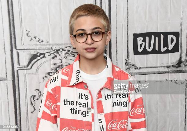 J Totah attends the Build Series to discuss his new NBC show 'Champions' at Build Studio on April 9 2018 in New York City