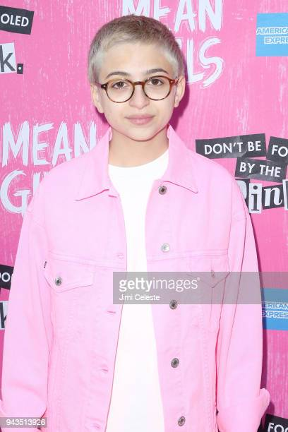 J Totah attends the opening night of Mean Girls on Broadway at August Wilson Theatre on April 8 2018 in New York City