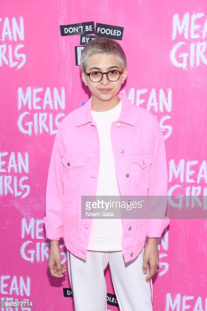 "Totah attends the opening night of ""Mean Girls"" on Broadway at August Wilson Theatre on April 8, 2018 in New York City."