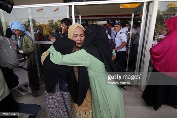 Total 168 Indonesians who were arrested at a Manila airport after being caught with Philippine Hajj passports returned home after deportation...