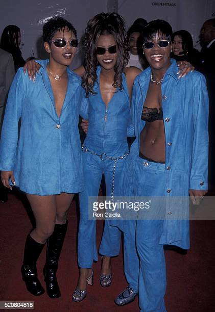 Total attends 10th Annual Soul Train Music Awards on March 29 1996 at the Shrine Auditorium in Los Angeles California