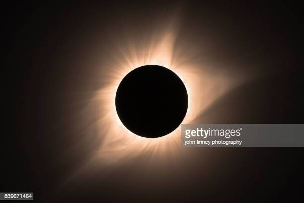 total eclipse 2017. totality. - power in nature stock pictures, royalty-free photos & images