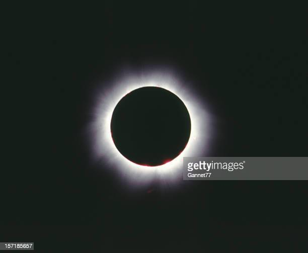 Total eclipse of the sun, Hungary 1999