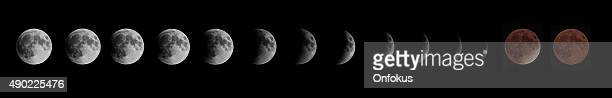 Eclipse Lunar Total y Super Moon