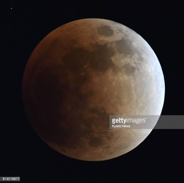 A total lunar eclipse is observed in Tokyo on Jan 31 2018 ==Kyodo