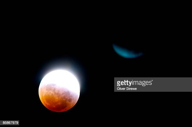 Total lunar eclipse on 28th August 2007.