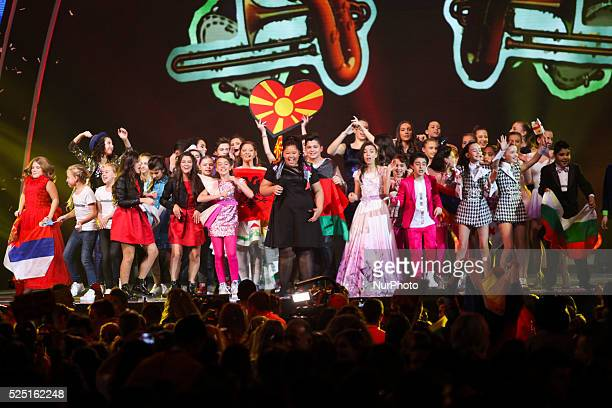 A total of seventeen countries participated in this year's edition of the contest held on 21 November 2015 in Sofia Bulgaria