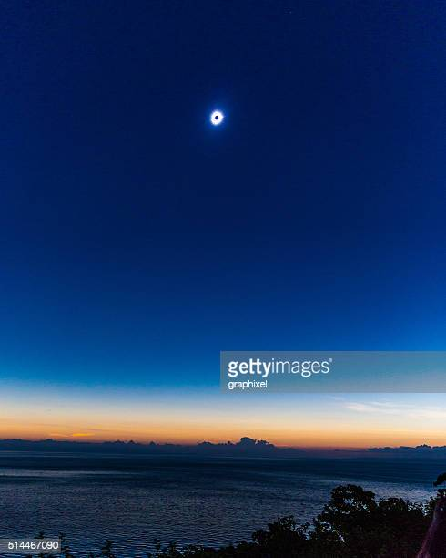 Total Solar Eclipse of the Sun, Indonesia
