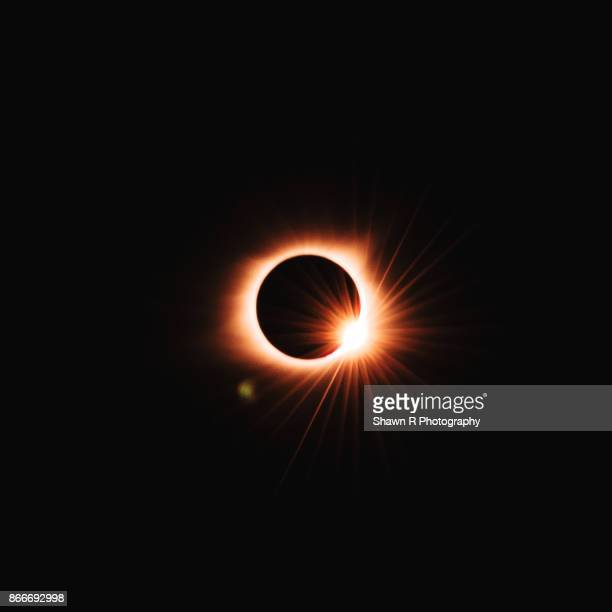 total solar eclipse - eclipse stock pictures, royalty-free photos & images