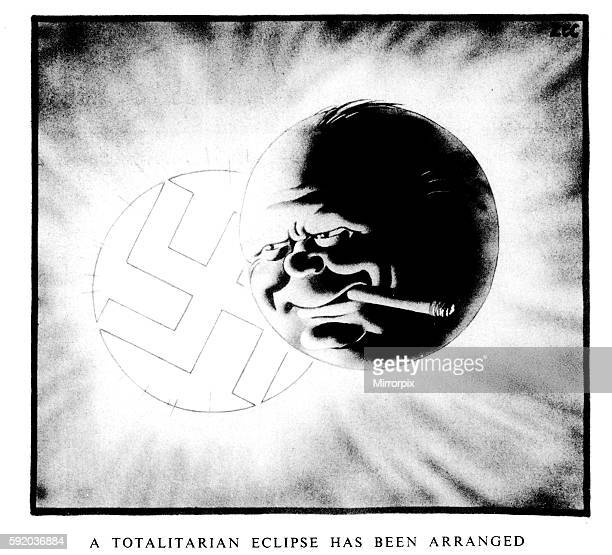 A Totalitarian Eclipse Has Been Arranged Daily Mirror 8th April 1940 On the 4th April a statement was issued from 10 Downing Street that the First...