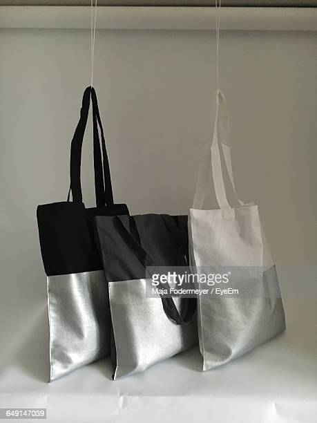 Tote Bags On Table
