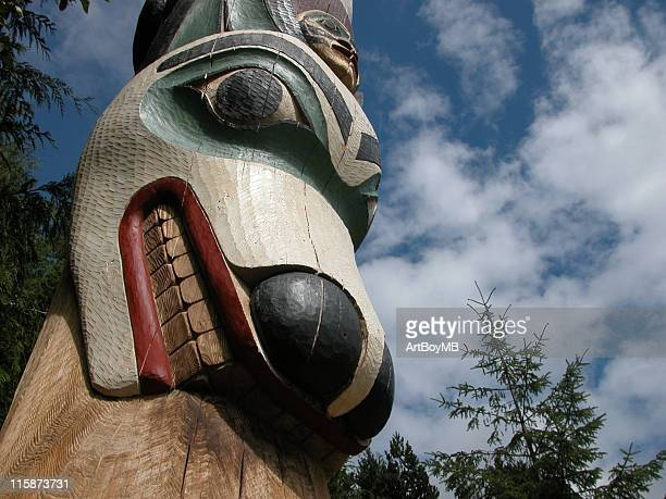 totem - totem pole stock photos and pictures