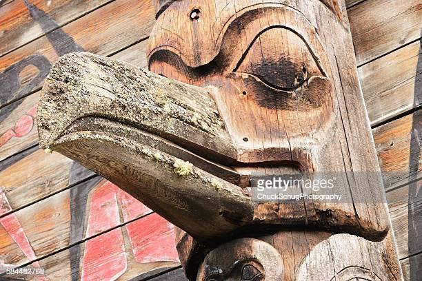Totem Pole Eagle Gitanyow Band Council