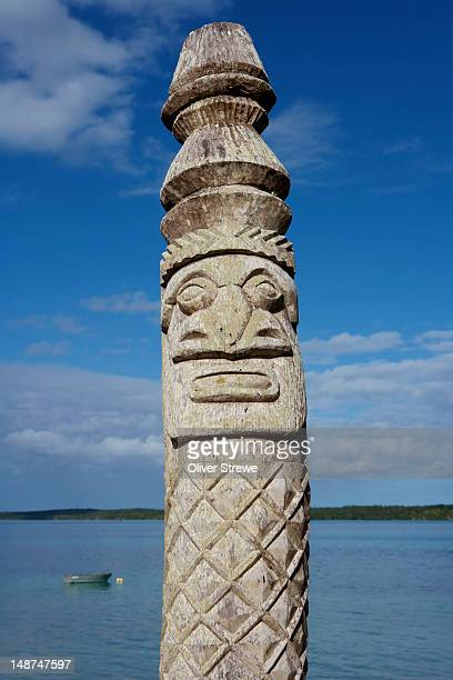 Totemic poll St. Maurice Bay