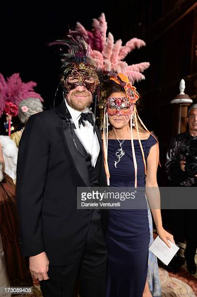 Toto Bergamo Rossi attends the 'Ballo in Maschera' to Celebrate DolceGabbana Alta Moda at Palazzo Pisani Moretta on July 6 2013 in Venice Italy