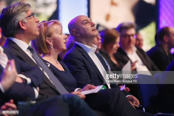 Tottenham chairman Daniel Levy during the premiere of 'The Lane' documentary film at BT Sport Studios on November 30 2017 in Stratford England
