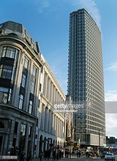 tottenham court road - centre point stock photos and pictures