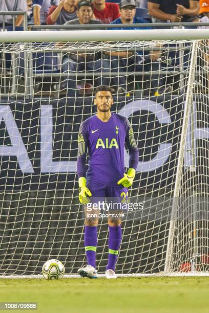 Tottenham goalkeeper Paulo Gazzaniga during the International Champions Cup match between AS Roma and Tottenham Hotspur FC on July 22 2018 at SDCCU...