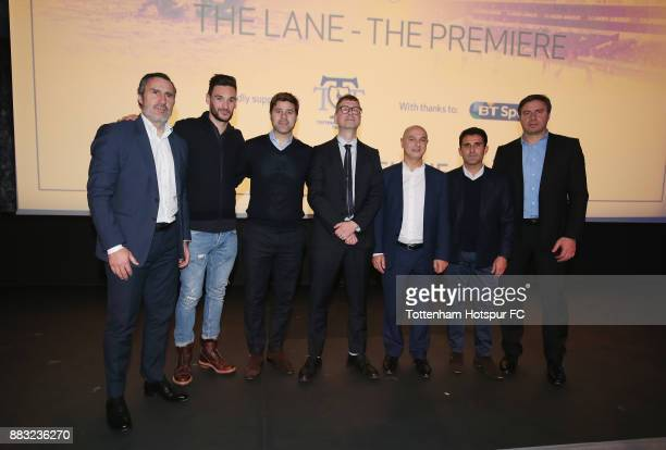 Tottenham goalkeeping coach Toni Jimenez club captain Hugo Lloris manager Mauricio Pochettino director of 'The Lane Luke Mellows chairman Daniel Levy...